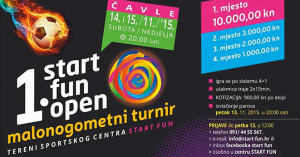 1. START FUN OPEN malonogometni turnir