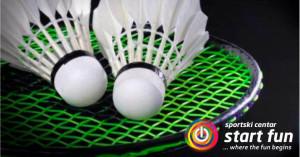 Škola badmintona u Start fun-u